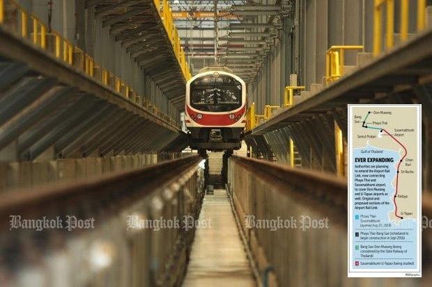 Tailandia aprueba proyecto ferroviario que une aeropuertos internacionales hinh anh 1