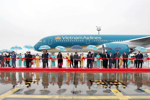 Nguyen Phu Trong asiste a ceremonia de transferencia de aviones a Vietnam Airlines en Francia hinh anh 1