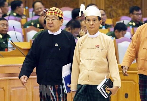 Vietnam felicita al nuevo presidente de Myanmar hinh anh 1