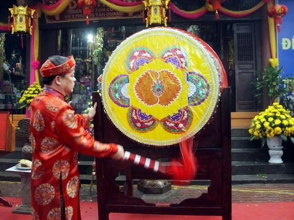 Titulo de Patrimonio Nacional para una fiesta-ceremonia tradicional en Tuyen Quang hinh anh 1