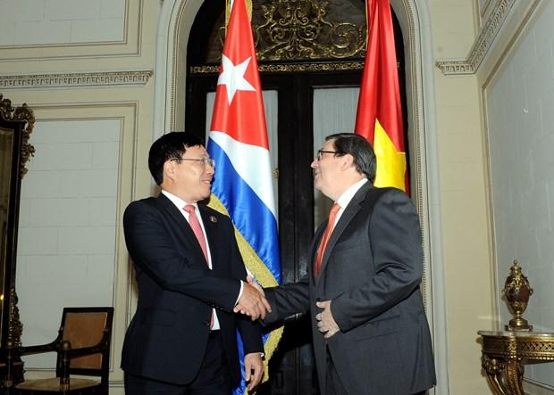 Vietnam y Cuba acuerdan profundizar relaciones bilaterales hinh anh 1