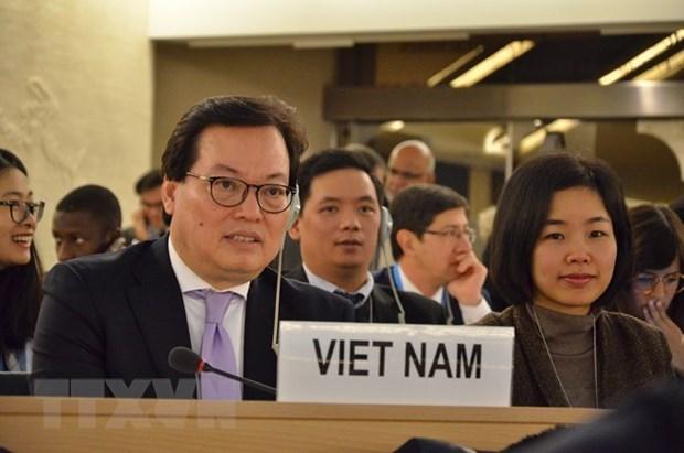 Vietnam rechaza informe de expertos de derechos humanos de la ONU hinh anh 1
