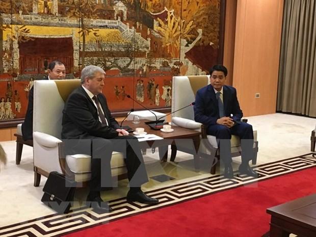 Belarus dispuesta a colaborar con empresa de Transporte en Hanoi hinh anh 1