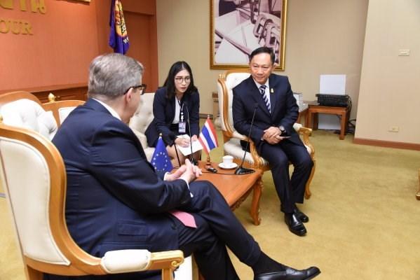 Union Europea saluda gestion de Tailandia para registrar trabajadores extranjeros hinh anh 1