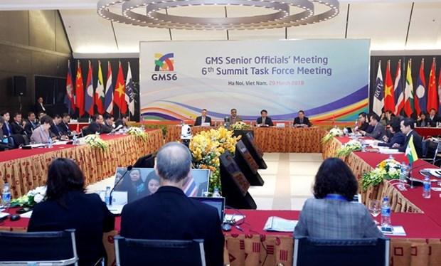 Altos funcionarios revisan documentos para la Cumbre de GMS hinh anh 1