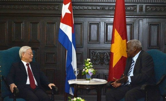 Vietnam siempre acompana a Cuba en su actualizacion de modelo economico, afirma Nguyen Phu Trong hinh anh 1