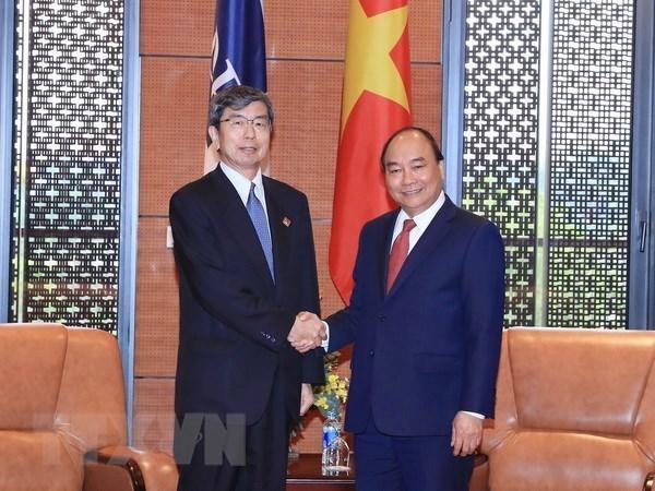 Premier vietnamita recibe al presidente del Banco Asiatico para el Desarrollo hinh anh 1