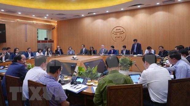Hanoi desea impulsar cooperacion con grupos de TI de Estados Unidos hinh anh 1