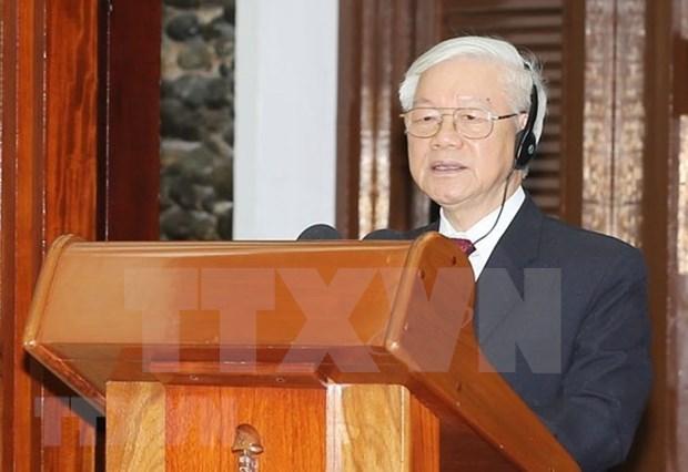 Nguyen Phu Trong resalta ejemplo unico y especial de amistad Vietnam- Cuba hinh anh 1