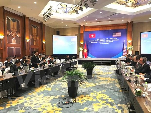Vietnam y EE.UU. efectuan primer dialogo sobre seguridad energetica hinh anh 1