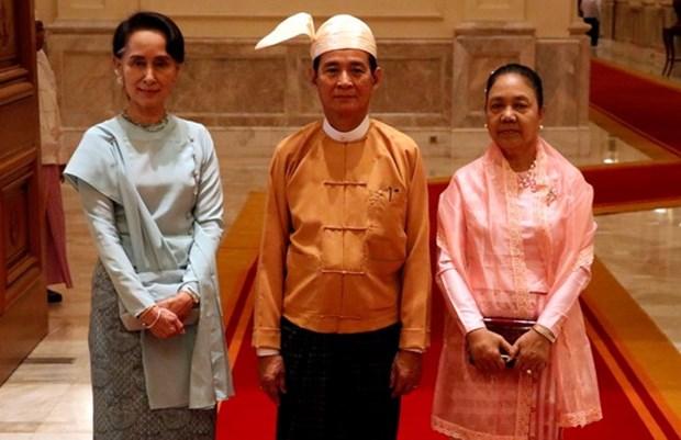 Nuevo presidente myanmeno remodela su gabinete hinh anh 1