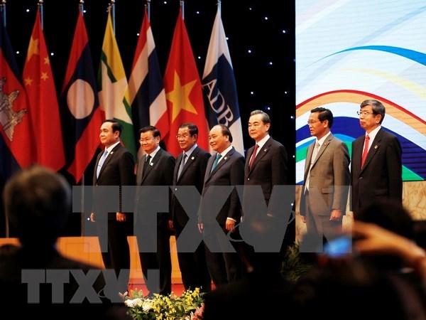Sesiona plenaria de sexta Cumbre de Subregion del Gran Mekong hinh anh 1