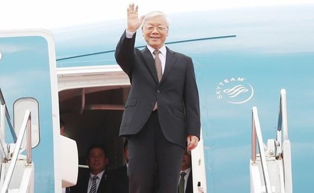 Maximo dirigente politico de Vietnam cierra con exito gira por Francia y Cuba hinh anh 1