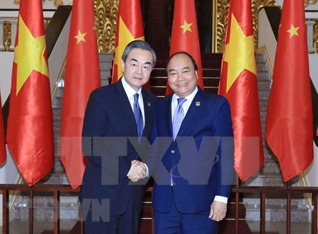 Vietnam y China impulsan relacion de amistad y cooperacion integral hinh anh 1