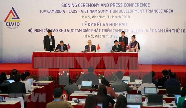 CLV-10 marca importante hito de cooperacion en Triangulo de Desarrollo, segun premier vietnamita hinh anh 1