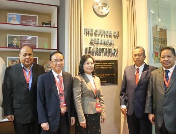 Inauguran Oficina de la Secretaria de la ASEANSAI en Yakarta hinh anh 1