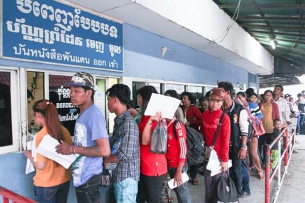 Tailandia fortalece medidas relativas a trabajadores indocumentados hinh anh 1