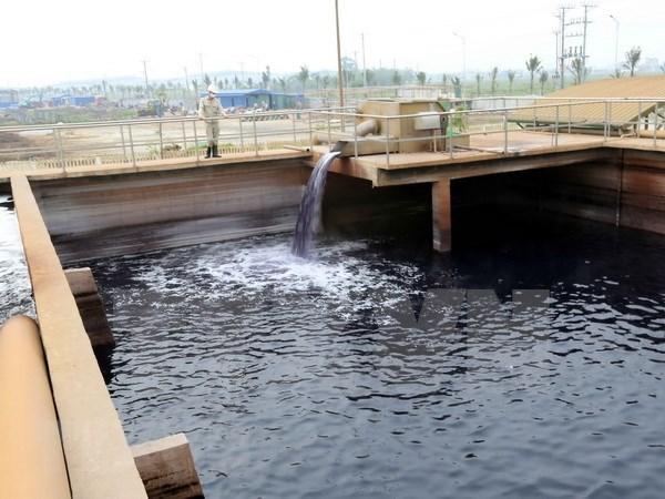 Ciudad Ho Chi Minh agilizan tratamiento de aguas residuales hinh anh 1