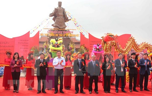 Inauguradas obras dedicadas a heroe vietnamita Ly Thuong Kiet hinh anh 1