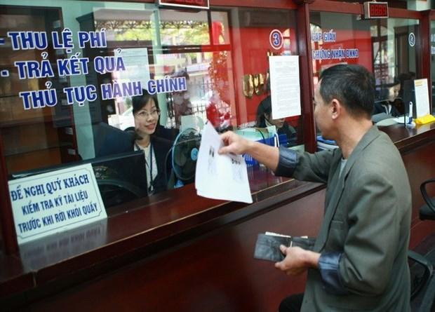 Reforma del aparato administrativo estatal, prioridad de Vietnam hinh anh 1