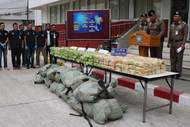 Tailandia desmantela gran red de trafico de drogas hinh anh 1