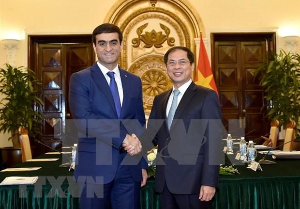 Cancillerias de Vietnam y Turkmenistan celebran consultas politicas hinh anh 1