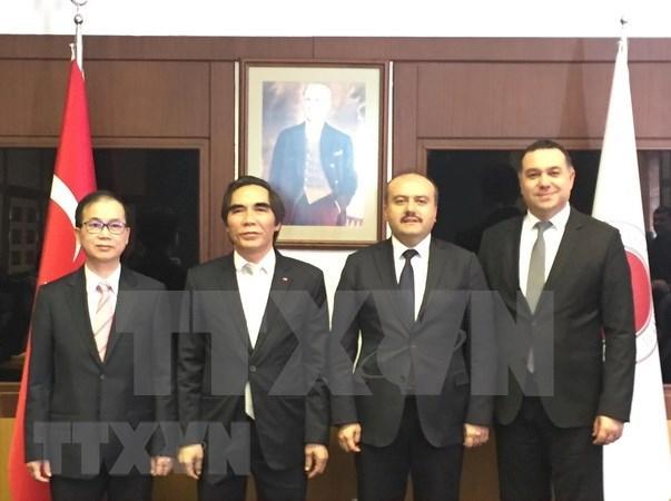Turquia invita a inversores vietnamitas a sus zonas economicas hinh anh 1