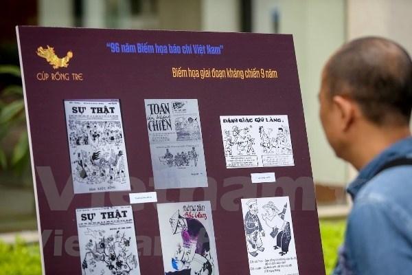Convocan concurso de caricatura periodistica de Vietnam hinh anh 1