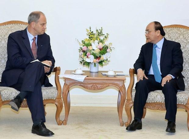 Vietnam aspira a fortalecer relaciones con Alemania, afirma premier Xuan Phuc hinh anh 1