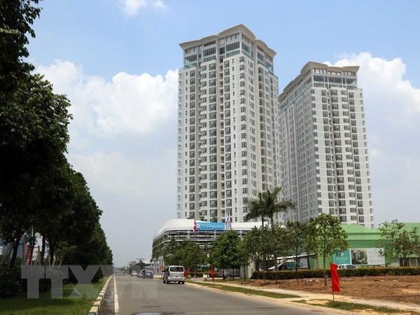 Mercado inmobiliario de Ciudad Ho Chi Minh crecio notablemente en primer trimestre hinh anh 1