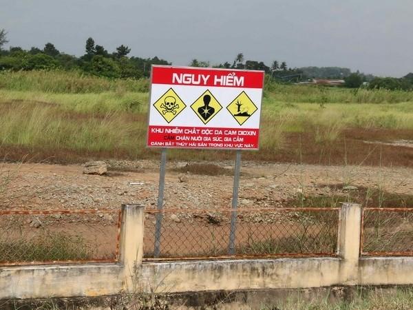 Vietnam llama a apoyo de comunidad internacional para mitigar secuelas de dioxinas hinh anh 1