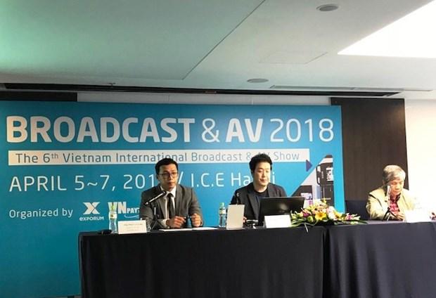 Efectuaran en Hanoi Exposicion Internacional de Radiodifusion y Equipos Audiovisuales hinh anh 1
