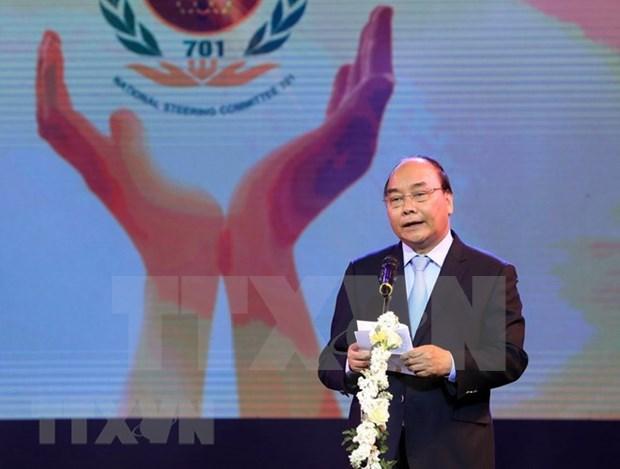 Premier vietnamita exhorta a impulsar mitigacion de secuelas de explosivos remanentes de guerra hinh anh 1