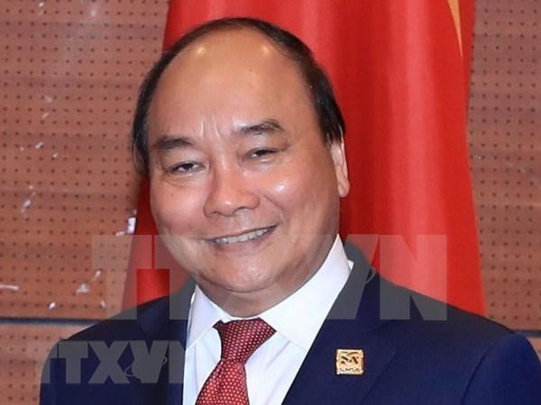 Premier vietnamita viaja a Camboya para reunion de Comision del rio Mekong hinh anh 1