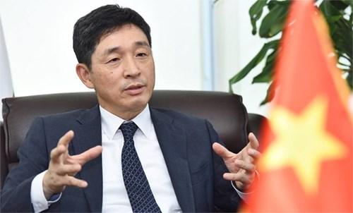 Vietnam honra contribuciones de diplomatico sudcoreano a lazos bilaterales hinh anh 1