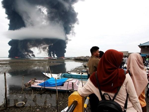 Pertamina admite responsabilidad por derrame de petroleo en bahia de Indonesia hinh anh 1