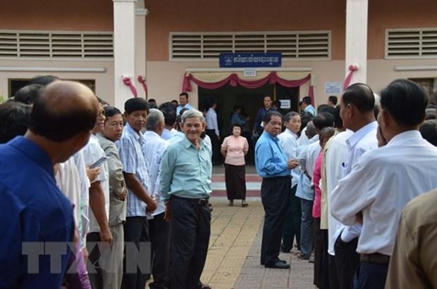 Camboya invita a observadores internacionales a supervisar las elecciones hinh anh 1