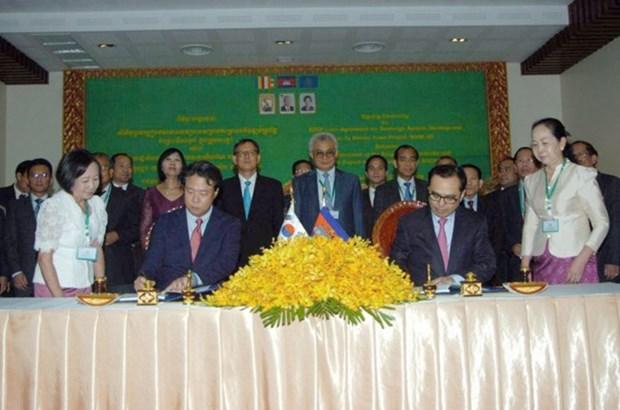 Sudcorea proporciona prestamo para desarrollo de sistemas de alcantarillado en Camboya hinh anh 1