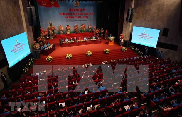 Efectuan congreso de sindicato de trabajadores publicos de Vietnam hinh anh 1