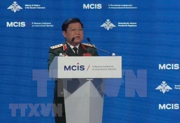 Vietnam destaca importancia de cooperacion en garantia de seguridad en Asia-Pacifico hinh anh 1