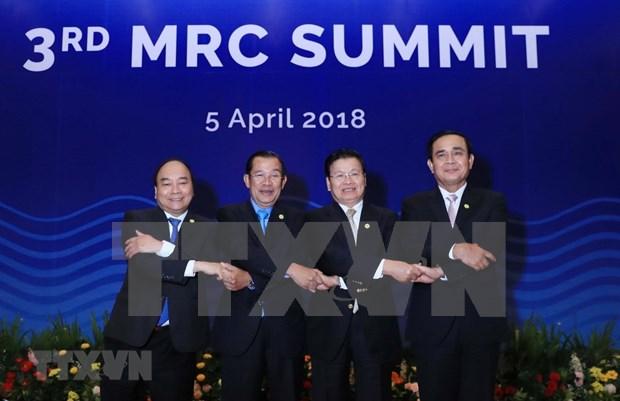 Premier de Vietnam exhorta a fortalecer papel de Comision del Rio Mekong hinh anh 1