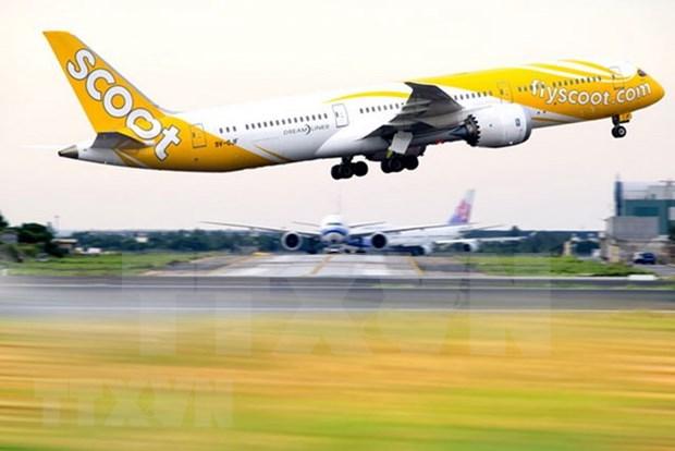 Avion de Scoot regresa a Singapur tras amenaza de bomba hinh anh 1