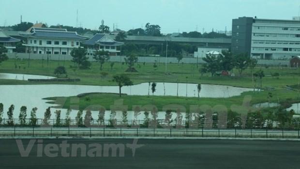 Indonesia ultima construccion de hipodromo para juegos continentales hinh anh 1