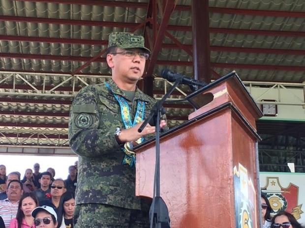 Presidente filipino designa nuevo jefe de Fuerzas Armadas hinh anh 1
