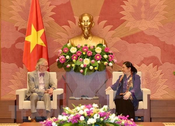 Parlamento vietnamita y Union Interparlamentaria consolidan cooperacion hinh anh 1