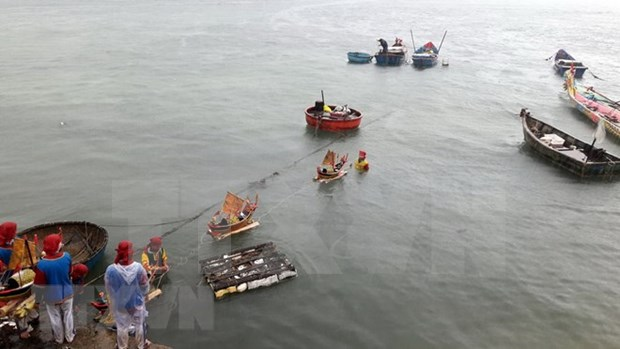 Reverencian a marineros martires vietnamitas en archipielago de Hoang Sa hinh anh 1