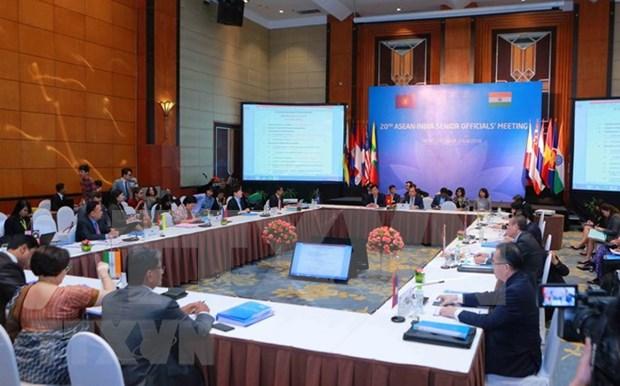 ASEAN y la India trazan orientaciones para futuros vinculos hinh anh 1