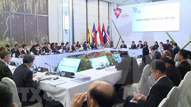 Inauguran en Singapur XXII Reunion de Ministros de Finanzas de ASEAN hinh anh 1