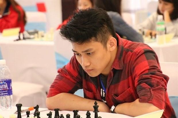 Ajedrecista vietnamita conquisto medalla de oro en campeonato asiatico para jovenes hinh anh 1