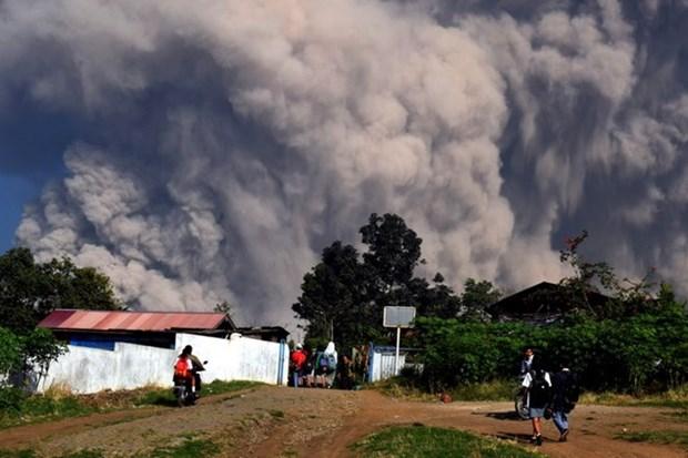 Indonesia cierra aeropuerto por actividades volcanicas hinh anh 1